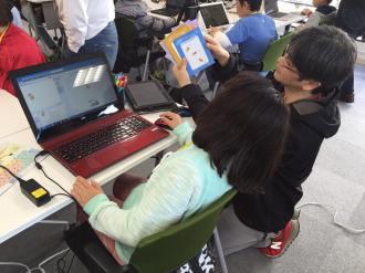 小学生・中学生向けプログラミング道場「CoderDojoさいたま第26回」を貸会議室6Fで開催しました。