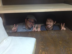 横浜のコワーキングスペース「タネマキ」の上津原さんと姫野さんに7Fに来ていただきました。