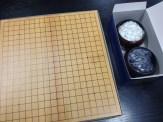 鈴木さんから碁盤をいただきました。ありがとうございます!