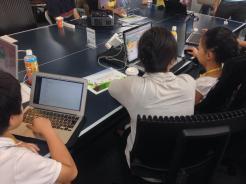 小学生・中学生向けプログラミング教室(CoderDojoさいたま第7回2014年9月6日)開催レポートを書きました。