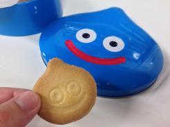 東京ゲームショウ2014に参加された7F月額会員の小松さんに、スライム型のお土産クッキーをいただきました。