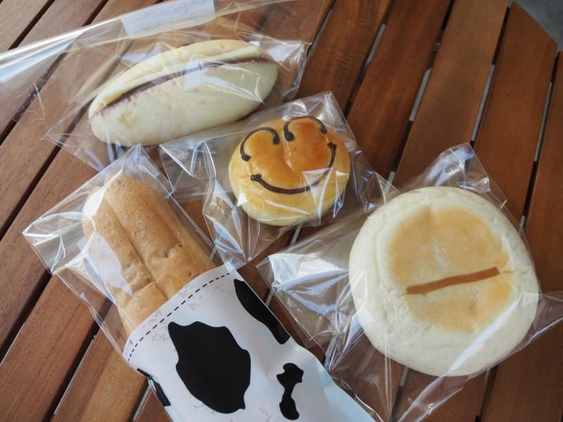 四種類のパン