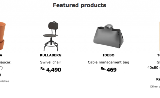Ikea S India Product Catalogue And Prices Are Now
