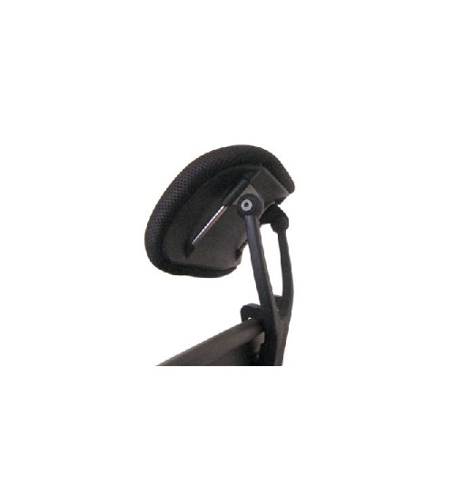 add on headrest for office chair dining chairs heavy people herman miller aeron work