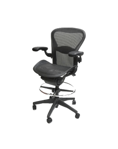 herman miller aeron chair size b reviews pink side stool all features fully adjustable