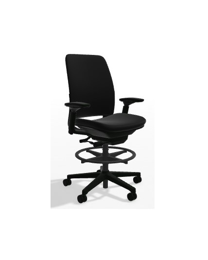 Steelcase Amia Stool All Features 4Way Adjustable Arms