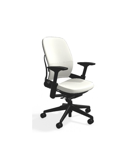 steelcase leap chair x gaming white leather all features 4 way adjustable