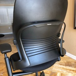 Steelcase Reply Chair Review Diy Wood Makeover Installing A Leap Headrest  Office Work