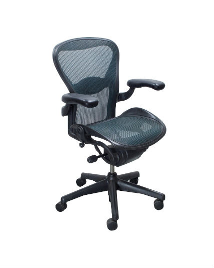 herman miller aeron chair size b reviews single for bedroom jade green all features