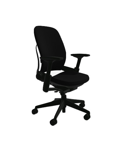 steelcase leap chair knoll replacement parts black leather all features 4 way adjustable