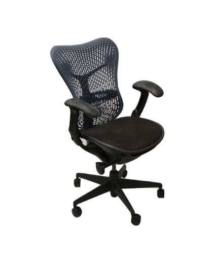 Herman Miller Mirra Chair Navy TriFlex Back All