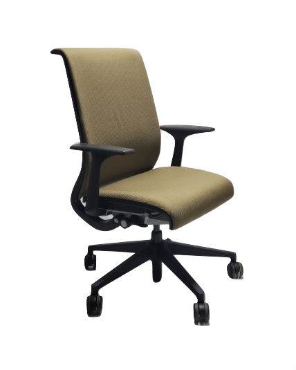 office chair gold spandex covers for folding chairs steelcase think standard adjustments work classic