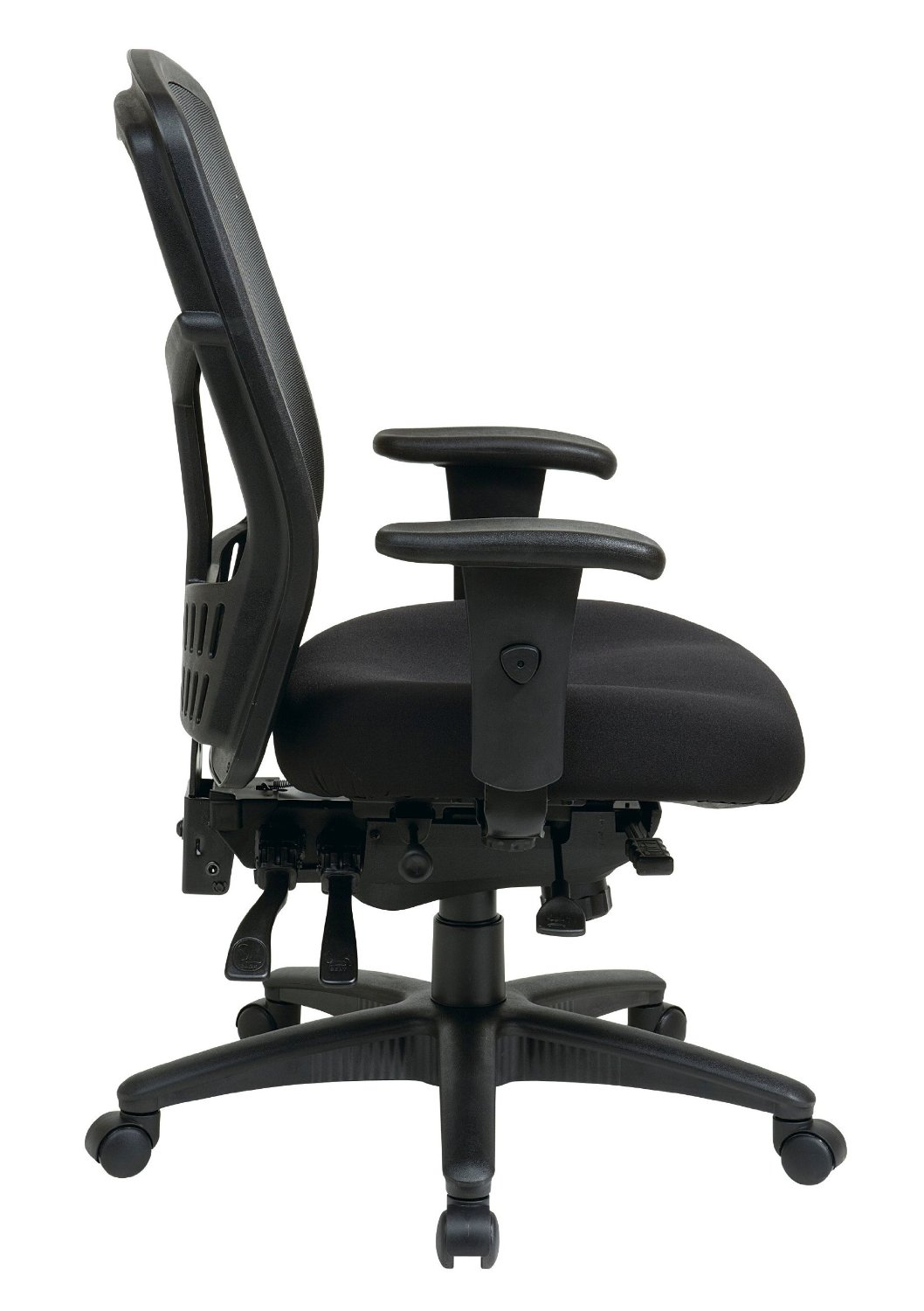 ofm posture task chair high back outdoor office with pivoting armrests humanscale liberty