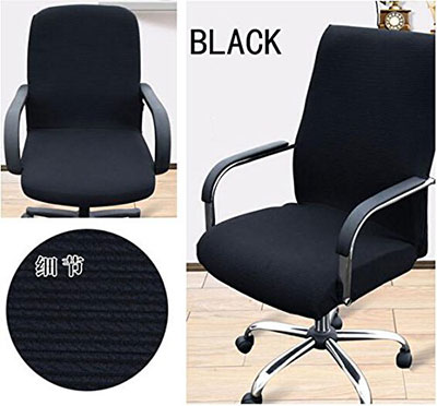 desk chair cover cheap barber chairs for sale top 7 office covers reviewed trending in 2018 6 shihualine tm slipcovers cloth pads removable