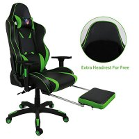 10 Best Gaming Chairs With Footrest For Gamers [2018 ...