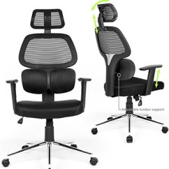 Office Chair Support Amazon Zero Gravity 6 Top Pick Chairs With Neck In 2018 Officechairist Com 2 Coavas Ergonomic Mesh High Back