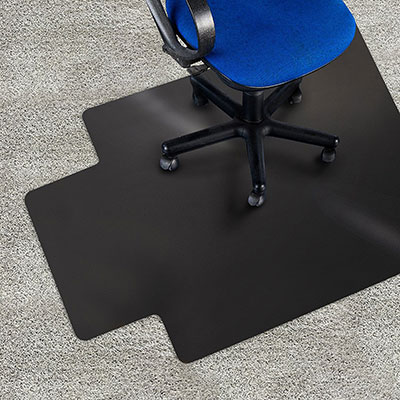 ergonomic chair mat sample cover rental agreement 7 best office mats for thick carpet 2018 selection 6 marshal black with lip