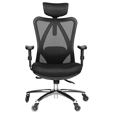 office chair review push button recliner chairs duramont ergonomic adjustable officechairist com