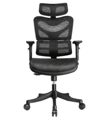 ergonomic office chair amazon two person bean bag argomax review model em ec002 officechairpicks com in depth mesh
