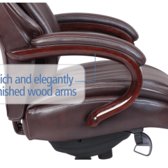 La Z Boy Delano Big Tall Executive Bonded Leather Office Chair Hanging Chairs Without Stand La-z-boy & Review | Officechairpicks.com
