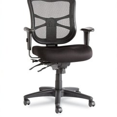 Alera Elusion Series Mesh Mid Back Multifunction Chair Cracker Barrel Rocking Chairs Office Up To 250 Lbs - For Heavy People