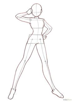 ** handy body pose in salute pose**…helps you to draw