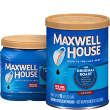 Still today one of the most common request is the famous coffee that is good to the last drop, Maxwell house.
