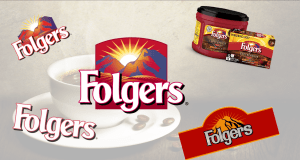 Folgers banner for the Coffees Page Header Slider.