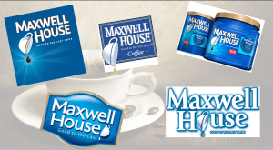 Maxwell House banner for the Coffees Page Header banner.