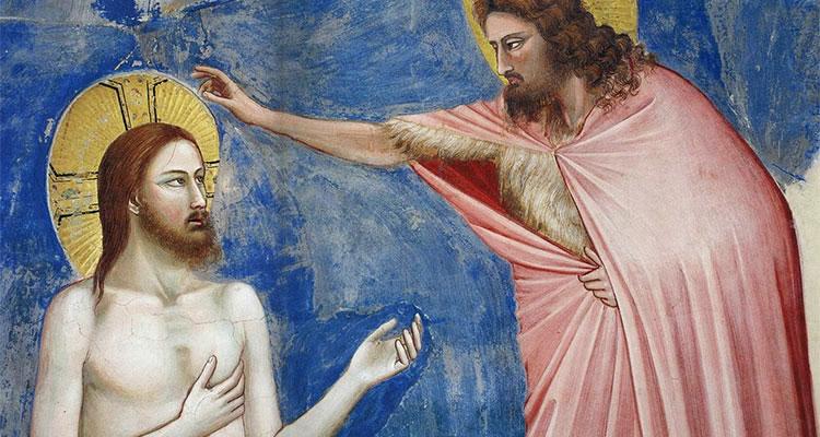 Jésus et Jean le Baptiste