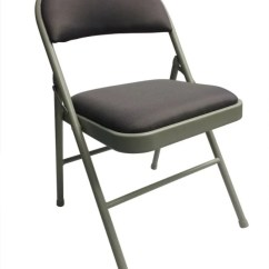 Black Padded Folding Chairs Non Slip Chair Pads Office Depot Officemax Realspace Upholstered Gray