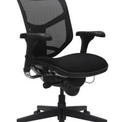 Officemax Chair Mat Custom Leather Cushions Workpro Quantum 9000 Series Ergonomic Mid Back Meshfabric Black By Office Depot &