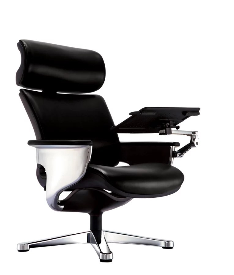 office lounge chair and ottoman stool for shower eurotech nuvem leather high back with