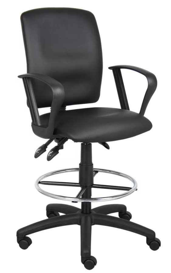 drafting chairs with arms best shower chair for elderly shop office depot officemax boss multi function budget stool