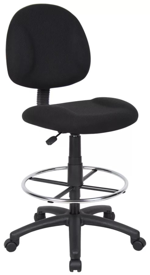 drafting chairs with arms bedroom chair m&s shop office depot officemax boss stool blackchrome