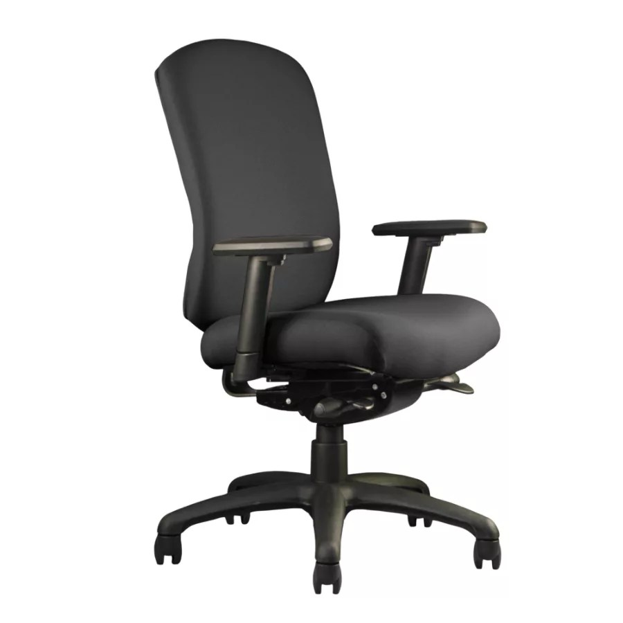 neutral posture chair hanging egg stand only cozi mid back 39 h x 26 w d black by