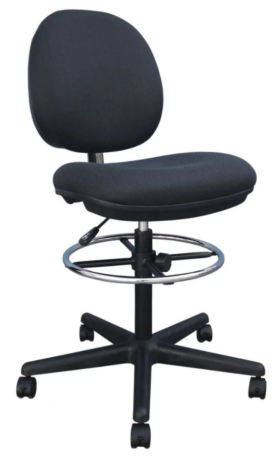drafting chairs with arms table and chair covers ebay shop office depot officemax brenton studio cosimo fabric mid back