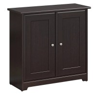 Bush Furniture Cabot Small Storage Cabinet with Doors ...