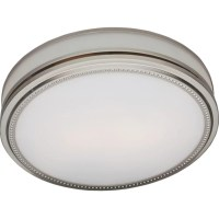 Hunter Fan Riazzi Bathroom Fan and Light with Brushed ...