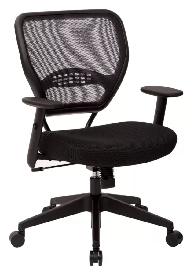 lower back support for chair rocking in a bag office star professional air grid mid mesh 42 h x 26 12 w use and keys to zoom out arrow move the zoomed portion of image