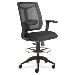 Chair Mesh Stool Eames Plywood Lounge Replace Shock Mounts Lorell Back Air Grid Seat Black By Office Depot Officemax