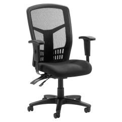Ergonomically Correct Chair Metal Dining Room Chairs Lorell Ergonomic Meshfabric High Back Multifunction Black Mesh Fabric