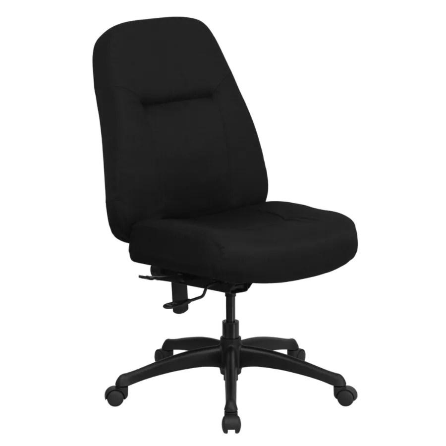 tall swivel chair gray glider flash furniture hercules fabric high back big and
