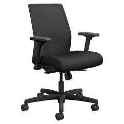 Hon Ignition Fabric Chair Plastic Covers Online India Mesh Back Task Black Seat