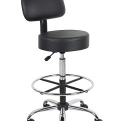 Chair Stool With Back Hunting Blind Boss Medical And Foot Ring Antimicrobial Vinyl Use Keys To Zoom In Out Arrow Move The Zoomed Portion Of Image
