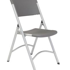 Public Seating Chairs Mickey Mouse For Toddlers National Series 600 Folding Slate Graysilver