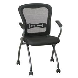 office star chairs corner lounge chair pro line ii 2 pack deluxe folding with progrid