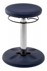 Kore Kids Adjustable Wobble Chair 15 12 to 21 12 H Dark ...