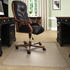 Desk Chair Mat For High Pile Carpet Light Blue Spandex Covers Mats Office Depot Deflect O Execumat Heavy Duty Vinyl
