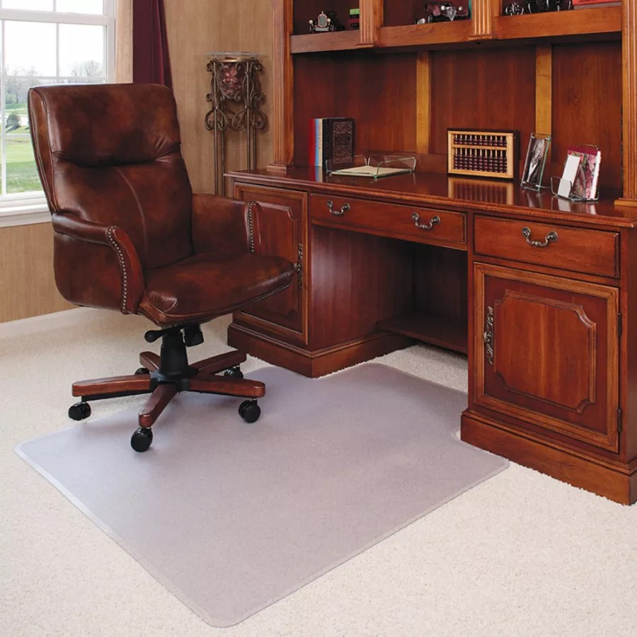 desk chair mat for high pile carpet pier one rattan deflect o execumat heavy duty vinyl chairmat carpets use and keys to zoom in out arrow move the zoomed portion of image